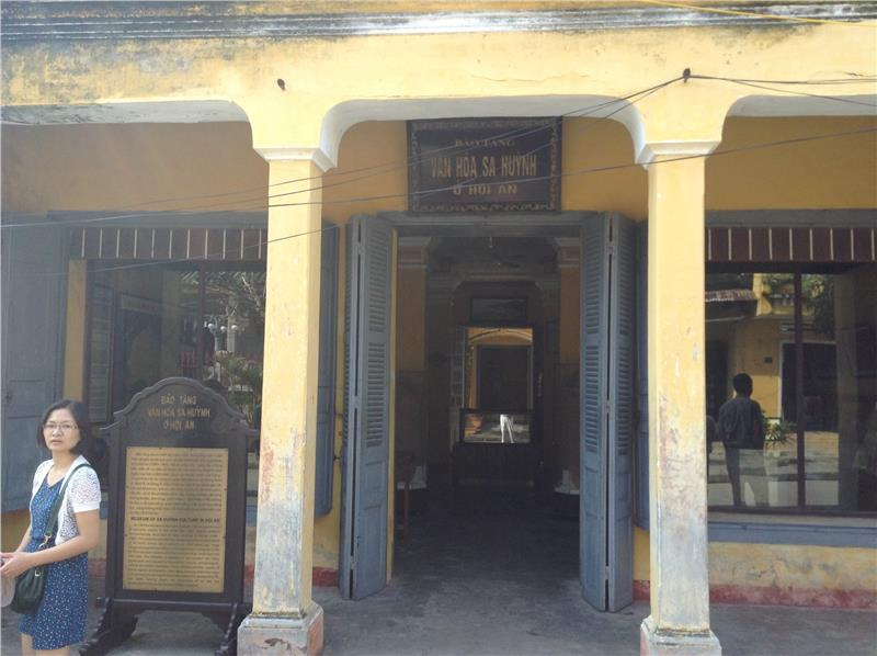 Entrance to the Museumof Sa Huynh Culture - Hoi An