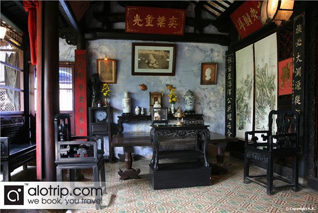 Tran Family Chapel inside