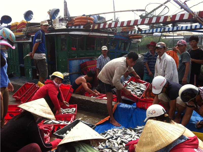 Fishery is developed in Hue