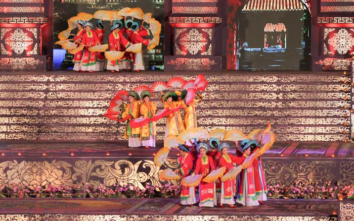 A royal court music performance in Hue Festival