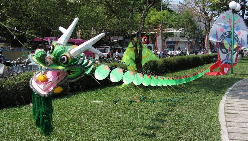 Kite festival in Hue