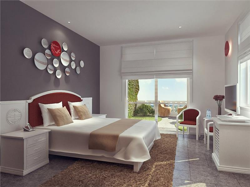 Guest room in Alba Spa Hotel