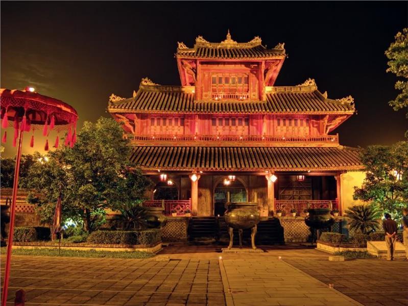 Inside Citadel City of Hue