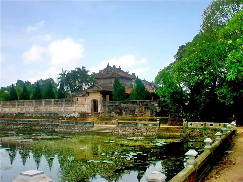 Scenery in Thai Binh Pavilion