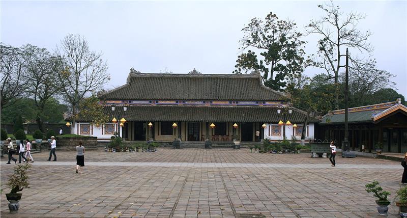 Ta Vu in Hue Citadel