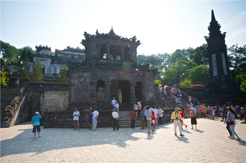 Tomb of Emperor Khai Đinh