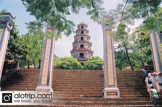 Thien Mu  pagoda view