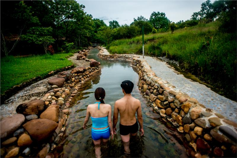 Immerse in Alba Thanh Tan Hot Springs