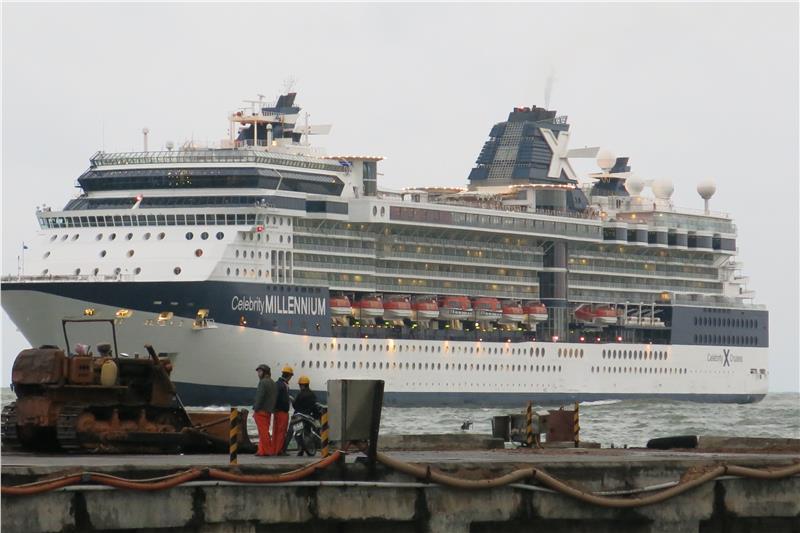 International ship to Chan May Port - Hue