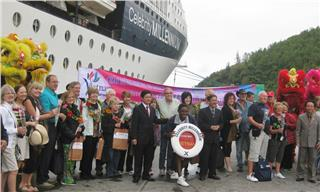 Chan May Port welcomes 34000 tourists to Hue in 2014