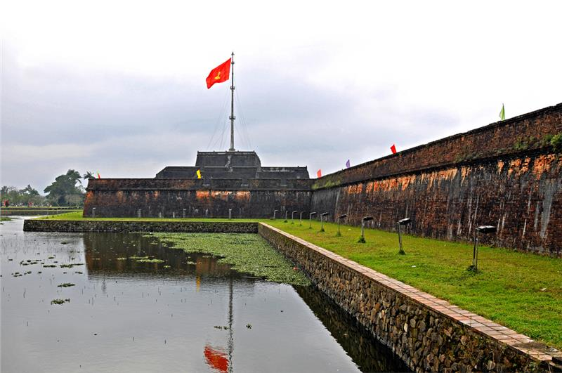 Flag Tower in Imperial of Hue