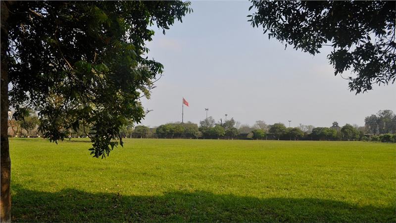 Flag Tower view from afar