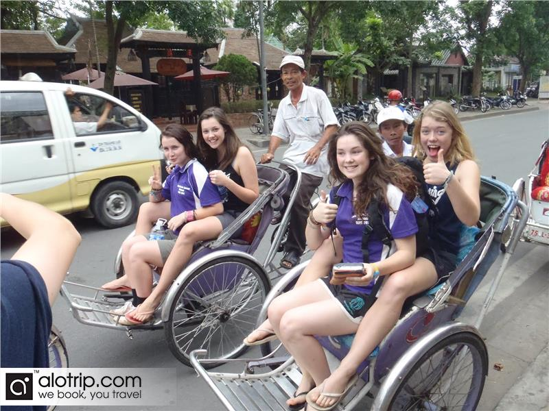 Cyclo tour in Hue