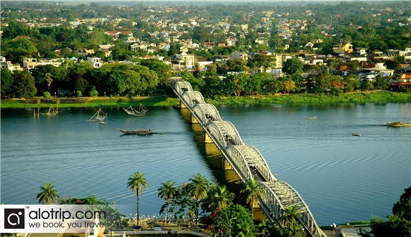 Huong River Panorama