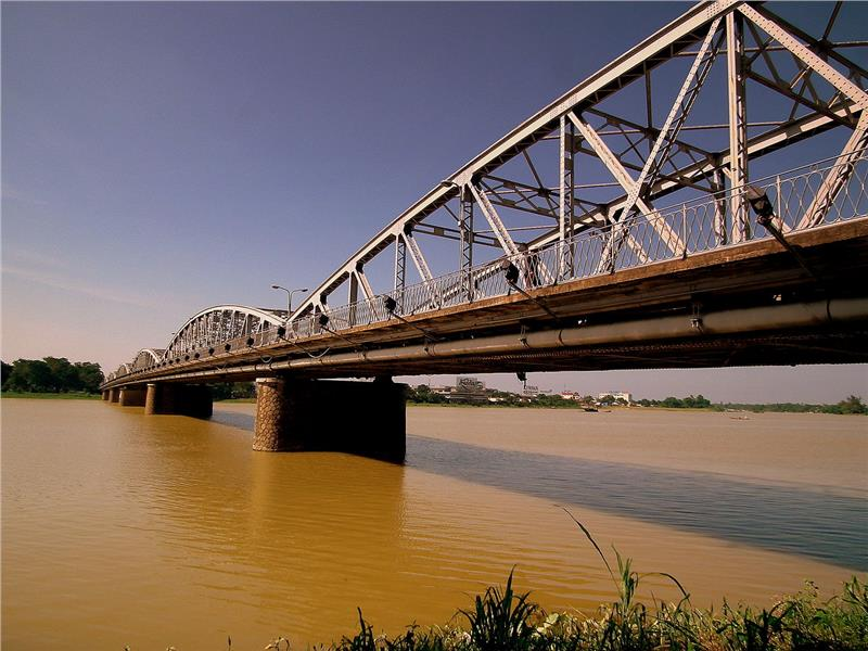 A bridge over Perfume River
