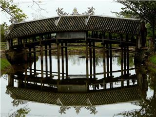 Tile roofed bridges in Vietnam - the everlasting beauty