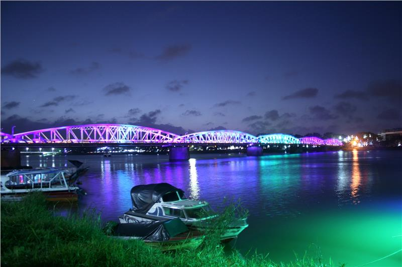 Truong Tien Bridge in Hue