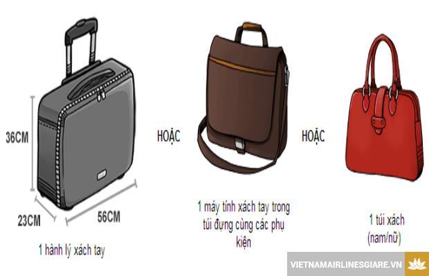 Những quy định hành lý khi đi Vietnam Airlines
