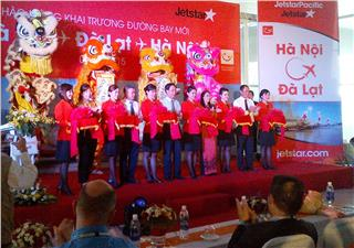 First Jetstar Pacific Hanoi - Dalat, Phu Quoc flights launched
