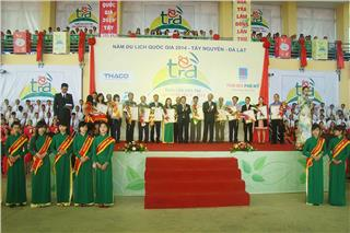 The opening of Lam Dong Tea Cultural Week