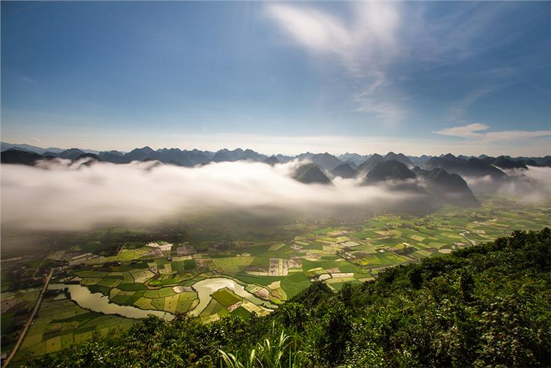 Morning in Bac Son Rice Valley