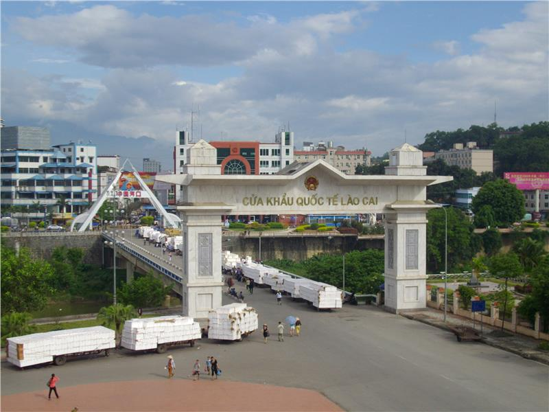 Lao Cai International Border Gate