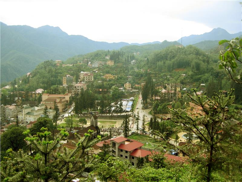 Sapa - a famous tourist attraction in Lao Cai