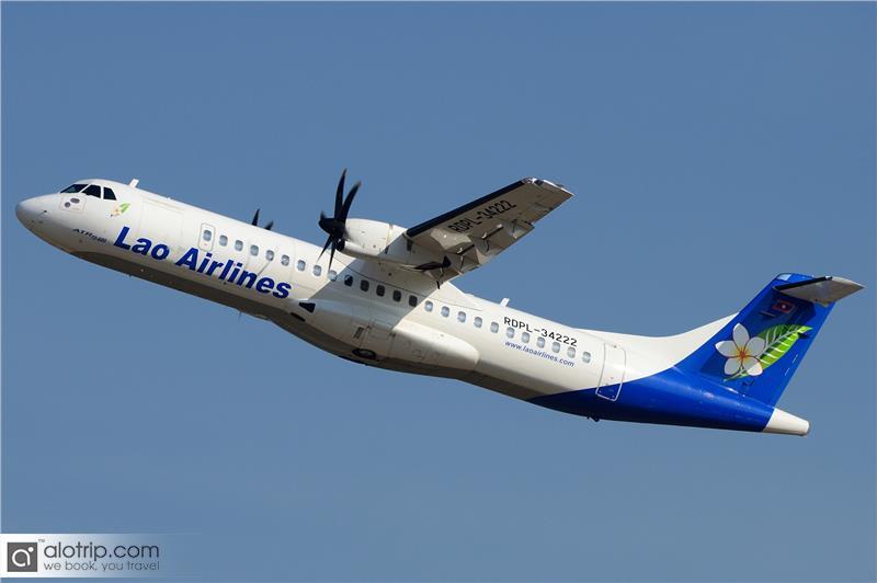 ATR-72 in Laos Airlines