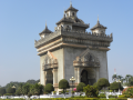 Patuxai the Laos Triumphal Arch