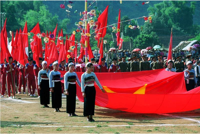 A festival in Mai Chau