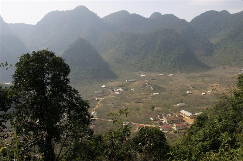Mai Chau view from Hang Kia