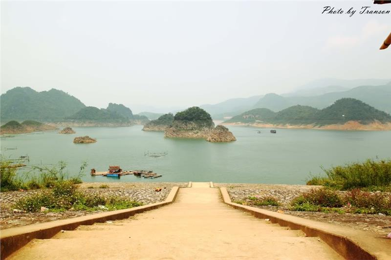 Panoramic view of Thung Nai
