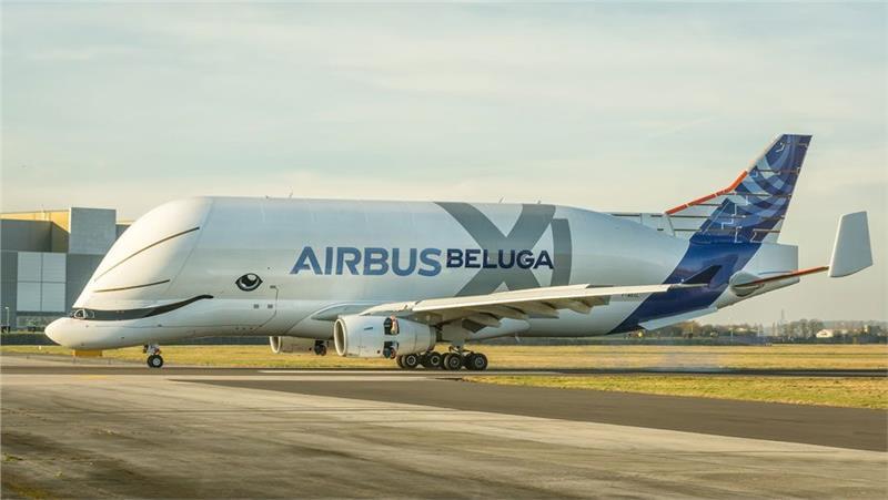 Máy bay Airbus Beluga XL