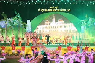 Ben Tre Coconut Festival 2015 opening ceremony