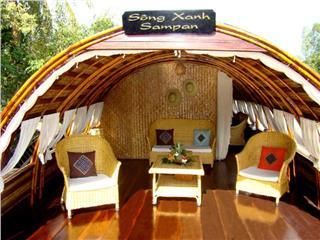 Song Xanh Sampan Mekong River Delta