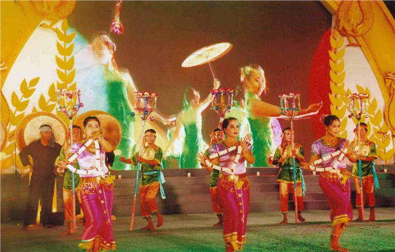 Hold Chol Chnam Thmay Festival 2015 in Mekong Delta