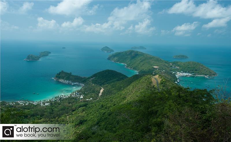 A corner of Nam Du Island