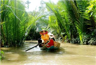 Mekong River Delta community based tourism part 1