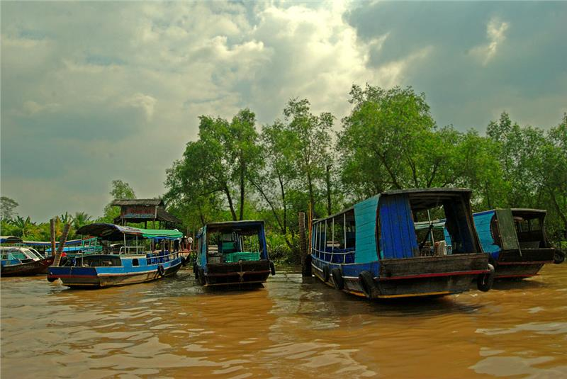 Tranquil scenery in Thoi Son Island