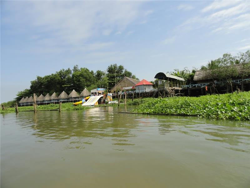 Bungalows at Vinh Sang tourist area