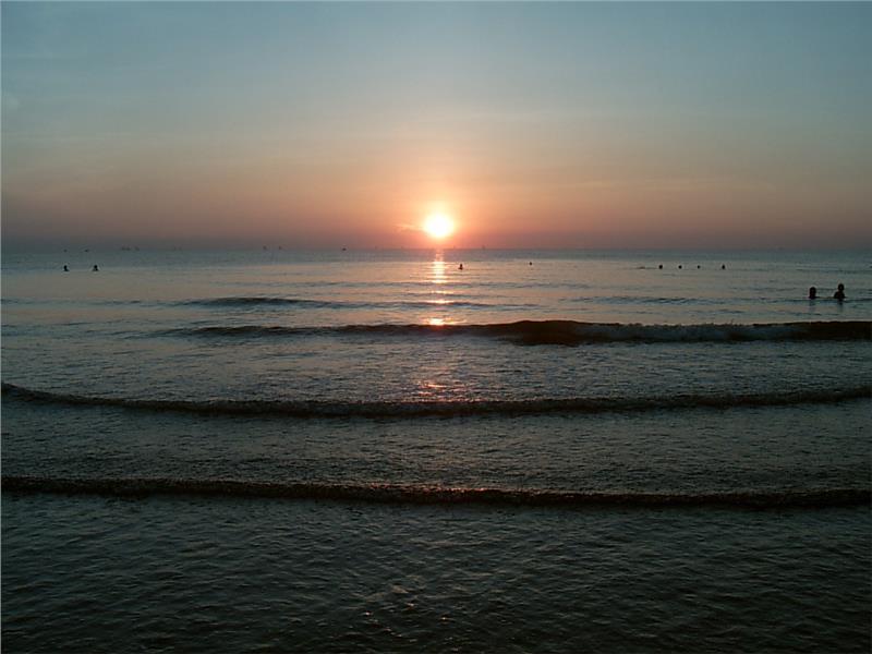 Sunrise at Cua Lo Beach