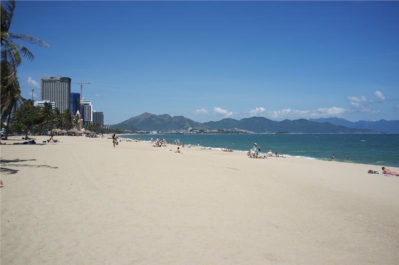Nha Trang Beach in summer