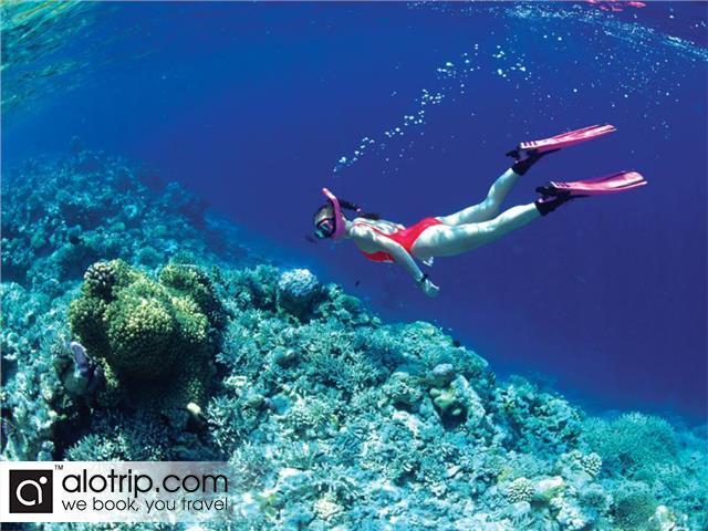 Scuba-diving in Mun Island
