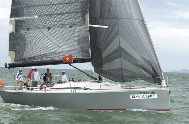 A team in International Yacht Festival