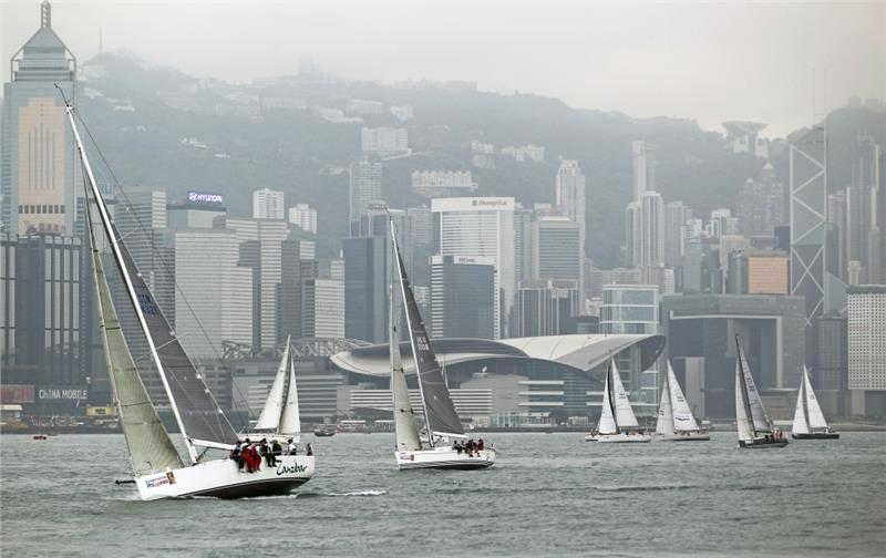 Hong Kong Harbour for Nha Trang Sailing Race