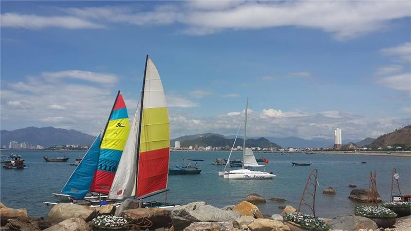 Place for the International Yacht Festival