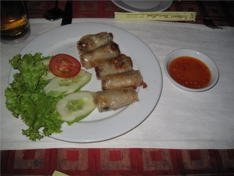 Nha Trang spring rolls