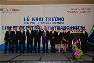 Pre-opening ceremony Liberty Central Nha Trang Hotel