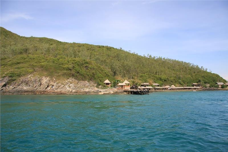Landscapes surrounding Con Se Tre tourist village