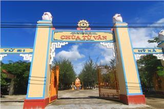 Tu Van Pagoda the unique spiral pagoda in Vietnam
